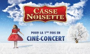 MILES: 1 place, catégorie au choix, pour Casse Noisette en ciné-concert dès 8 € à Lille, Bully-les-Mines, Liège ou Maubeuge