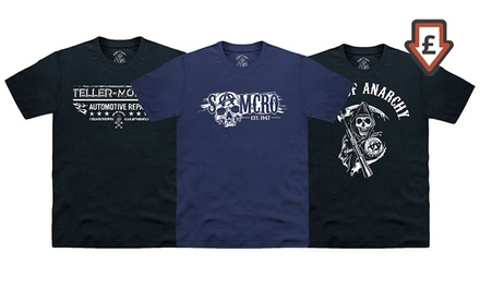 Men's Officially License Sons of Anarchy TShirts for £11.99