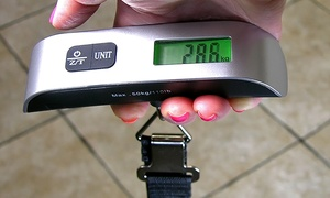 Digital Luggage Scale (1 or 2pk)