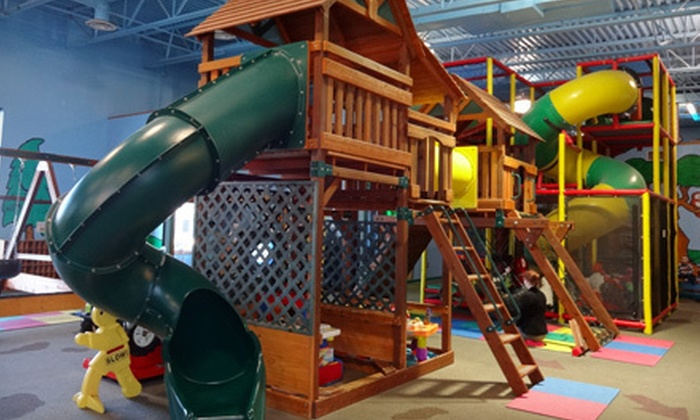 Lost in Fun - Lincoln: 10 Indoor-Playground Outings for Kids at Lost in Fun (Up to 51% Off). Three Options Available.