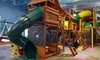 Lost in Fun - Lazy Acres: 10 Indoor-Playground Outings for Kids at Lost in Fun (Up to 51% Off). Three Options Available.