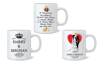 Prince Harry and Megan Royal Wedding Mugs