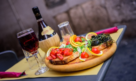 TwoCourse Pub Meal with Wine or Beer for Two $39, Four $75 or Six People $110 at Railway Hotel Up to $267 Value