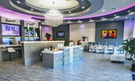 Full Set of Eyelash Extensions or Full Set of Mink Eyelash Extensions at Athena Beauty Bar (Up to 89% Off)