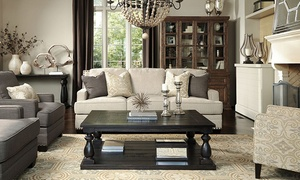 Ashley HomeStore: Furniture and Accessories at Ashley HomeStore (Up to 51% Off). Three Options Available.