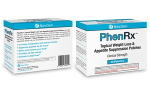 PhenRx Topical Weight Loss Patches (30-Count) at PhenRx Topical Weight Loss Patches (30-Count), plus 6.0% Cash Back from Ebates.
