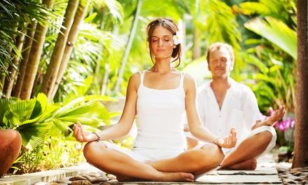 5 lezioni di yoga o pilates