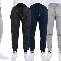 Mens Slim-Fit Joggers with Tech Zipper Pockets