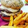 Menu hamburger con birra, Ardea