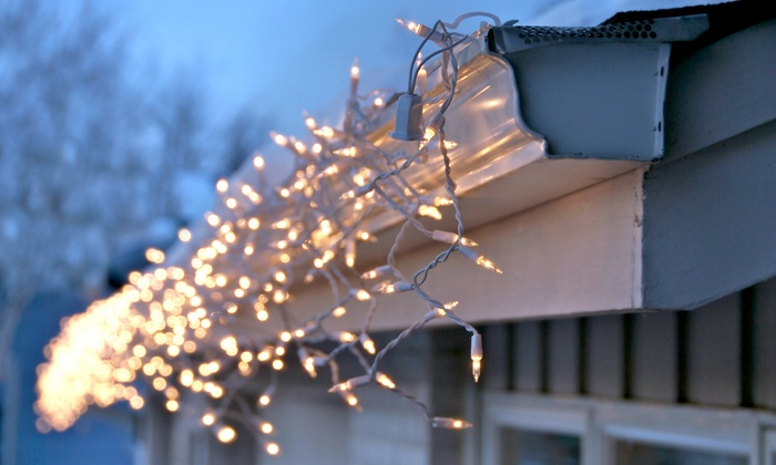 Jack Frost Designs - Fresno: One- or Two-Story Holiday Light Installation from Jack Frost Designs (Up to 60% Off). Three Options Available.