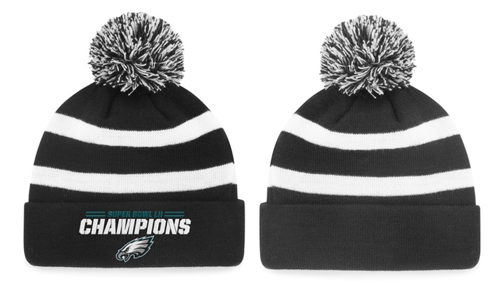 more photos f9ce5 45730 Up To 4% Off on Philadelphia Eagles Hats | Groupon Goods