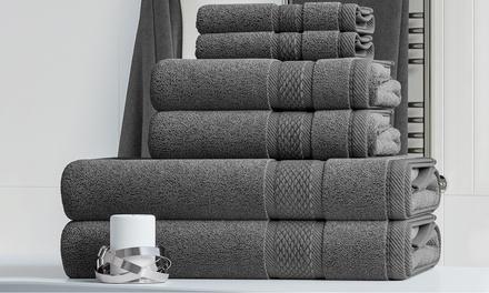 500gsm Milan 6 or 12Piece Towel Bale