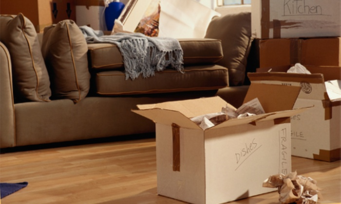 Unpakt - Jacksonville: $50 for $100 Worth of Moving Services from Unpakt
