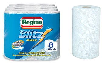 Regina Blitz Kitchen Roll, 8 Rolls