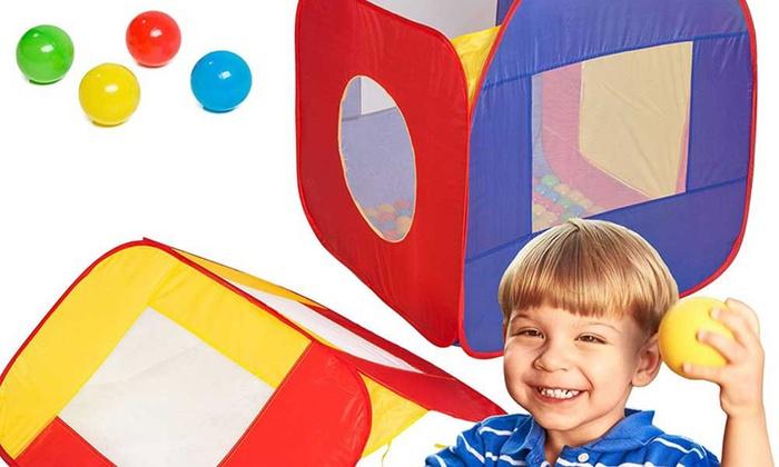 Tende Per Bambini Con Palline : Tenda a casetta con 200 palline groupon