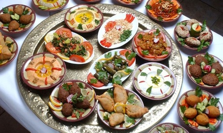 Degustación de cocina siria para dos personas a elegir con opción a shisha desde 19,90 € en Shisha Syrian Food Oferta en Groupon