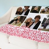 Up to 74% Off Custom Fleece Photo Blankets