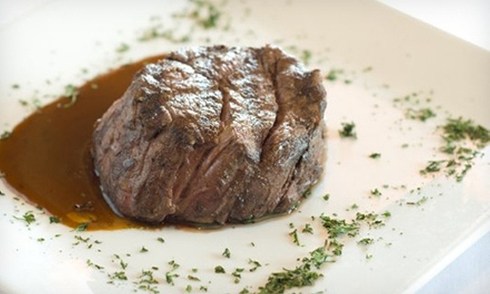 Baker Peters Jazz Club - Knoxville: Three-Course Contemporary Southern Meal for Two or Four at Baker Peters Jazz Club (Up to 54% Off)