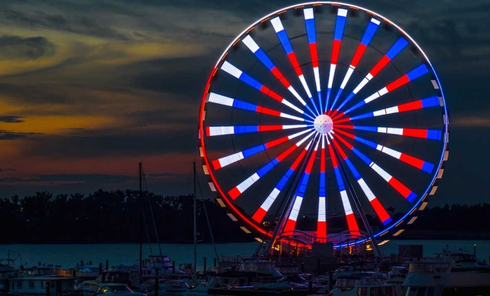 Tickets for Two or Four People at The Capital Wheel (Up to 33% Off). Two Options Available.