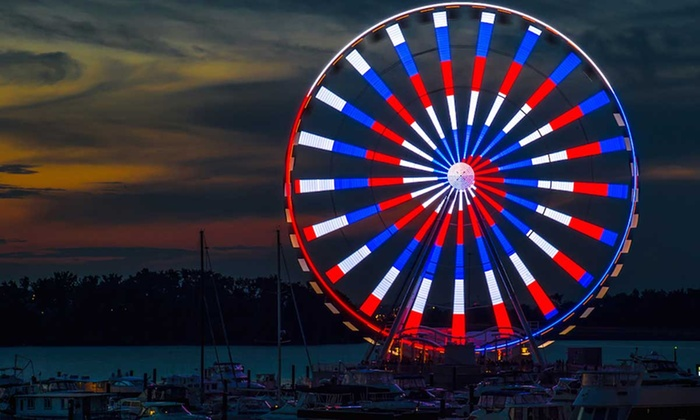 The Capital Wheel - National Harbor: Tickets for Two or Four People at The Capital Wheel (Up to 33% Off). Two Options Available.