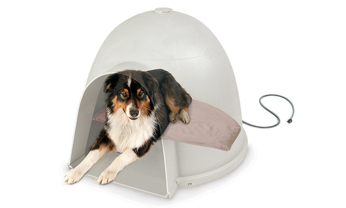 K Amp H Lectro Soft Heated Pet Bed Groupon Goods