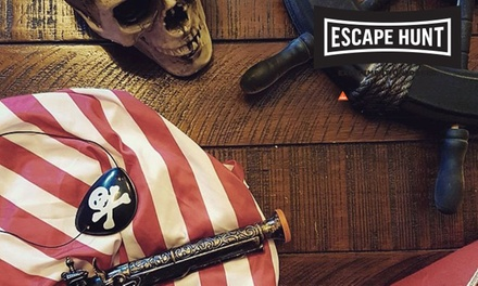 Escape Game Experience: 2 $50, 3 $70, 4 $90, 5 $100 or 6 $120 at Escape Hunt, Fremantle Up to $216 Value