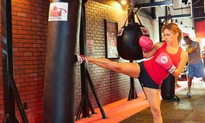 9Round Fitness & Kickboxing: One or Two Months of Unlimited Kickboxing Rounds with Hand Wraps at 9Round 30 Minute Kickboxing (Up to 66% Off)