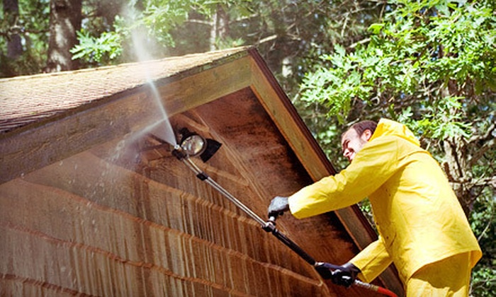 Rochester Local Painting - Rochester: Pressure Washing on a One- or Two-Story Home from Rochester Local Painting (60% Off)