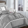Cumberland Pinch Pleat Comforter and Sheet Set (16-Piece)