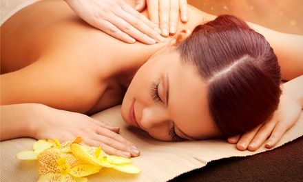 One 60- or 90-Minute Deep Tissue or Swedish Massage at Lux Foot Spa (Up to 16% Off)