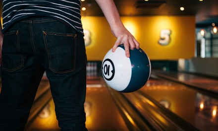 Peak or OffPeak Bowling for Two or Four with Snack to Share and Drink Each at Bowling House