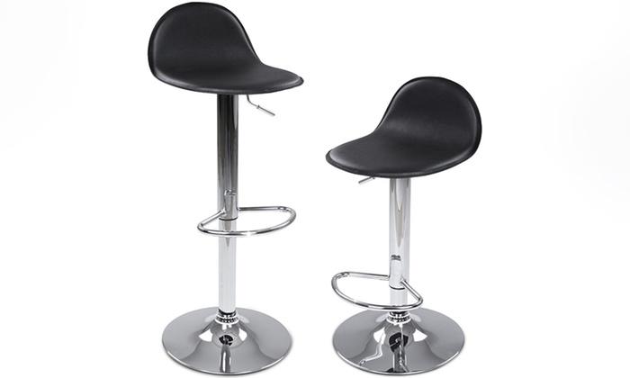 lot de tabourets consty groupon shopping. Black Bedroom Furniture Sets. Home Design Ideas