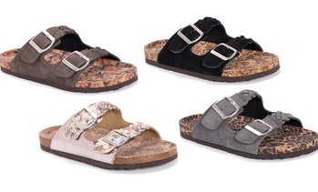 Muk Luks Juliette Women's Slip-On Sandals