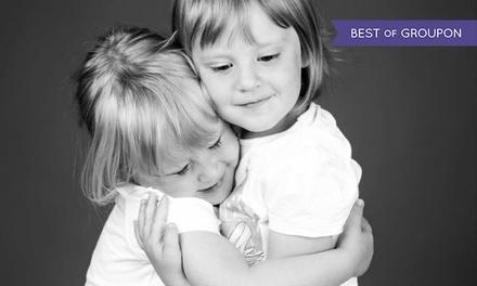 Fotoshoot voor kinderen incl. 1 óf 3 afdrukken en met waardebon bij PicturePeople Fotostudios