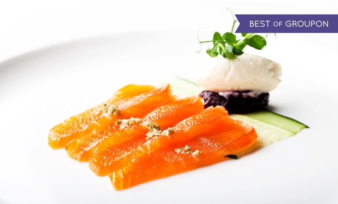 Three-Course A La Carte Meal with a Bottle of Wine to Share for Two at 5* London Hilton Park Lane (Up to 59% Off)