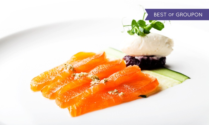 5* London Hilton on Park Lane - London: Three-Course A La Carte Meal with a Bottle of Wine to Share for Two at 5* London Hilton Park Lane (Up to 59% Off)