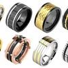 Men's Titanium Comfort Fit Ring