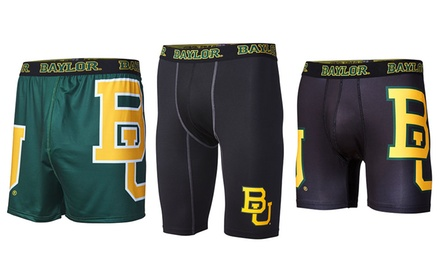 NCAA Baylor University Men's Briefs or Compression Shorts