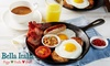 Bella Italia: Hot Breakfast with Drinks for Two