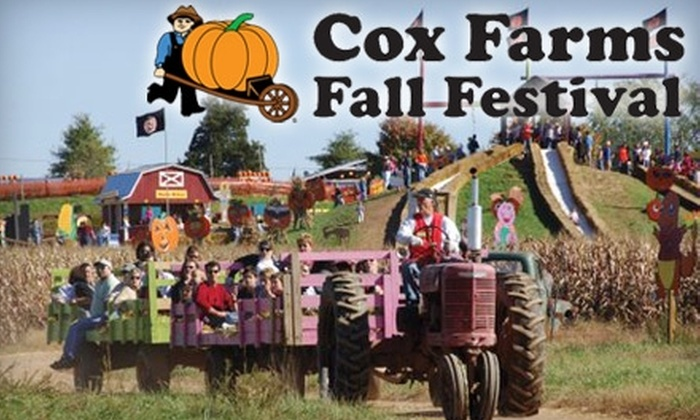 Cox Farms Fall Festival - Sully: One-Day Admission Ticket to Cox Farms Fall Festival, September 25–30. Choose from Weekend or Weekday Options.
