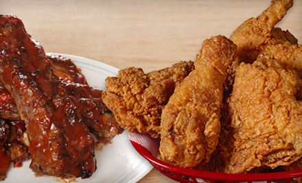 $30 Groupon to Twain's Chicken & Ribs - Twain's Chicken & Ribs in Oceanside