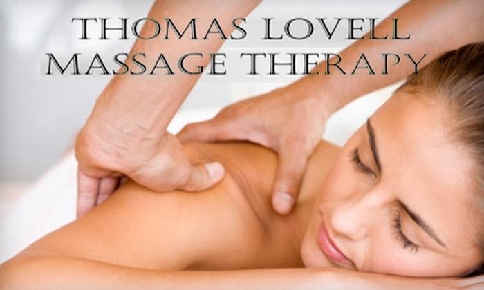 Thomas Lovell Massage Therapy - Remmington Park: $35 for a One-Hour Massage at Thomas Lovell Massage Therapy ($74 Value)