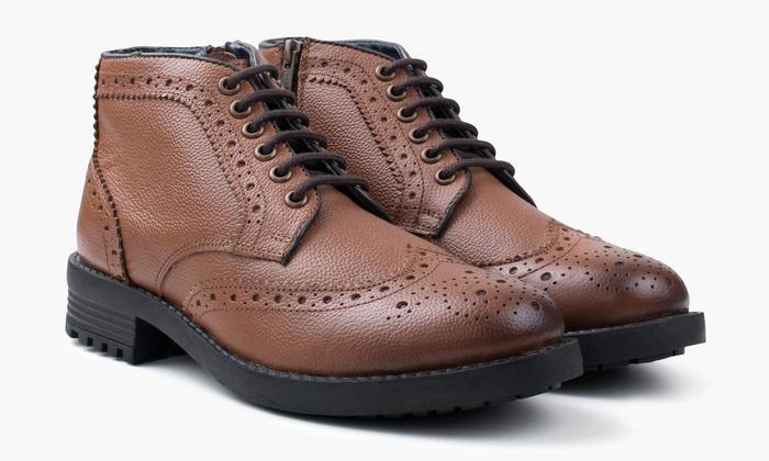 Bis zu 73% Rabatt Redfoot Herren Stiefel | Groupon
