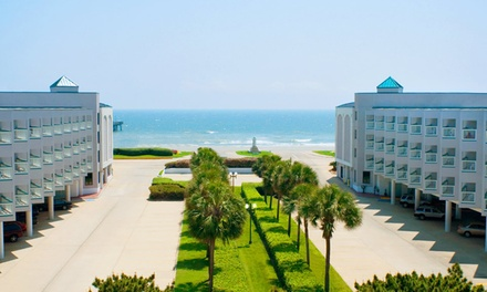 Stay at Casa del Mar Beachfront Suites in Galveston, TX. Dates into September.