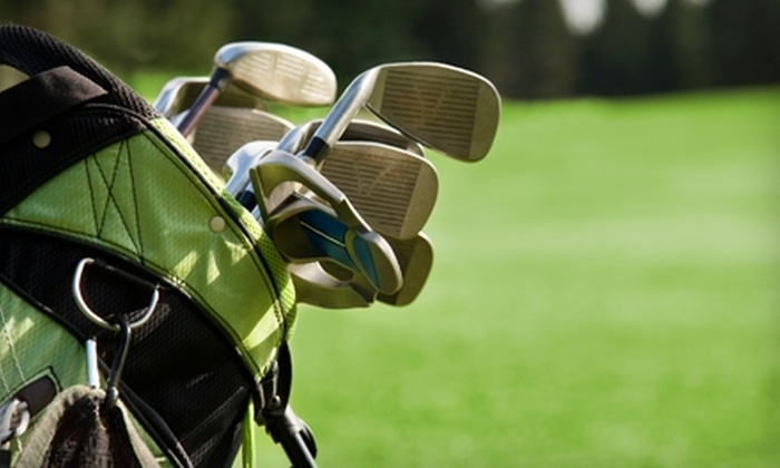 Deer Creek State Park Golf Course - Monroe: 18 Holes of Golf with a Cart at Deer Creek State Park Golf Course in Mount Sterling. Two Options Available.