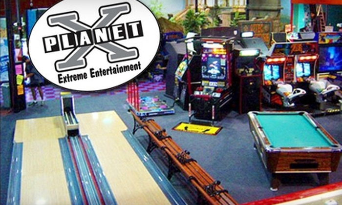 Planet X Fun Center - Cedar Rapids: $10 for $20 Worth of Indoor Family Fun at Planet X