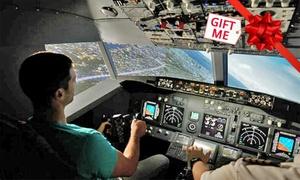 Jet Flight Simulator - Melbourne: Jet Flight Simulator Experience: 30 ($69) or 60 Minutes ($129) at Jet Flight Simulator, Melbourne (Up to $249 Value)