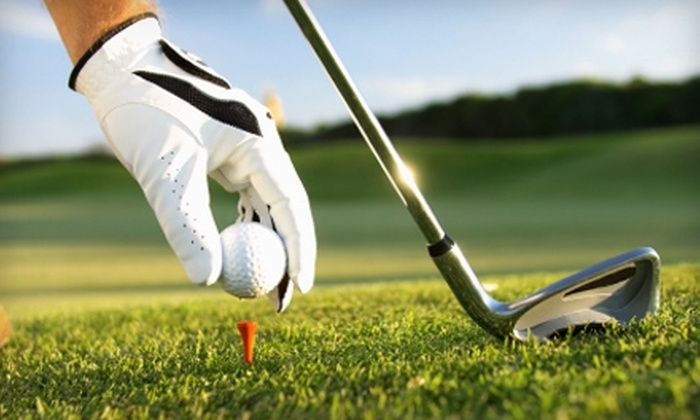 Southern Oaks Golf Club - Thomas Crossing: $49 for Round of Golf for Two People, Cart Rental, and Range Balls from Southern Oaks Golf Club in Burleson (Up to $98 Value)
