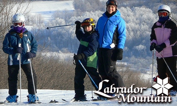 Labrador Mountain - Truxton: $21 for a Nine-Hour Lift Ticket at Labrador Mountain ($45 Value)