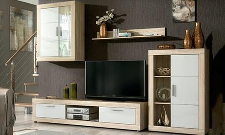 Mueble de salón modular Fiordo Oferta en Groupon